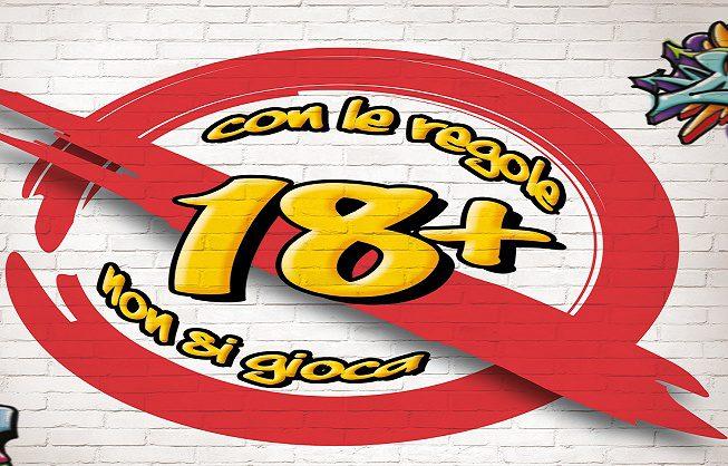 18+ CON LE REGOLE NON SI GIOCA
