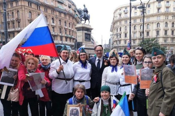 A Napoli celebrata la IV marcia del reggimento immortale