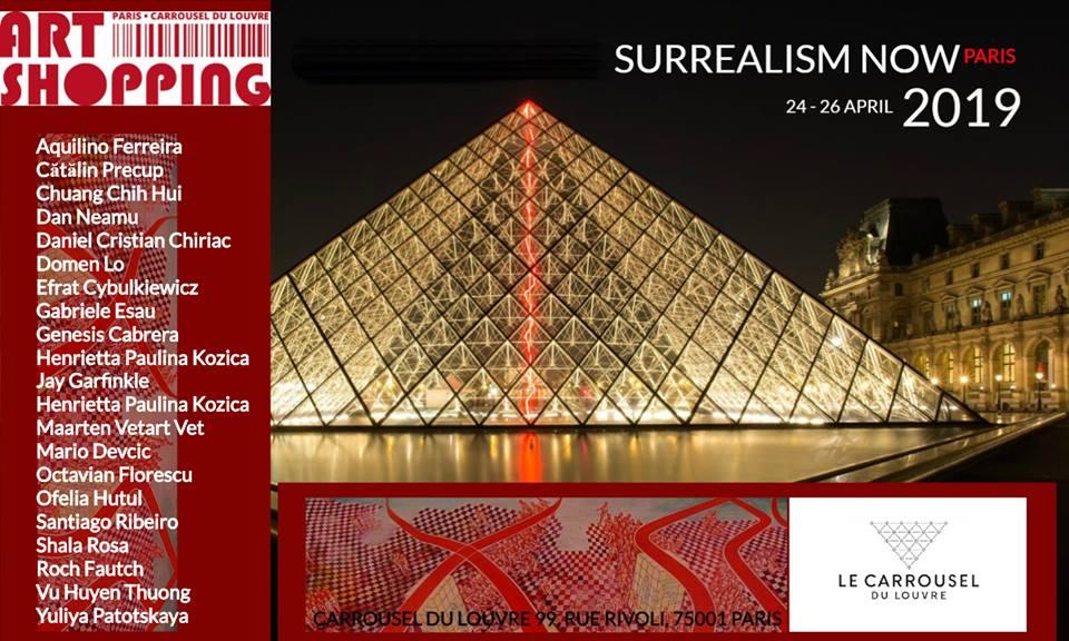 A Parigi l'esposizione dell' International Surrealism Now