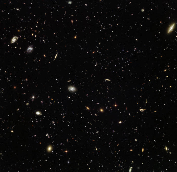 Adunata galattica per Hubble