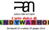 """AL PAN """"L'ARTE DOLCE DI ANDY WARHOL"""""""