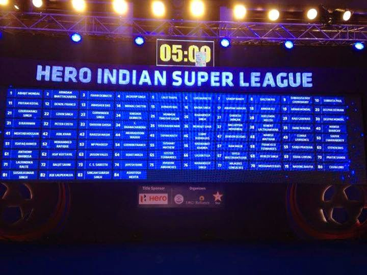 DEL PIERO E LA HERO INDIAN SUPER LEAGUE