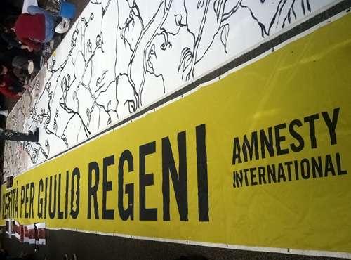 Amnesty International: Verità per Giulio Regeni
