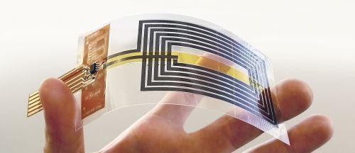 Antenne NFC completamente flessibili
