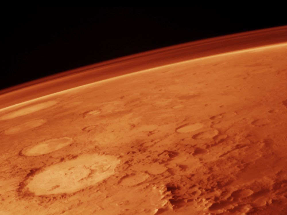 Antichi tsunami su Marte