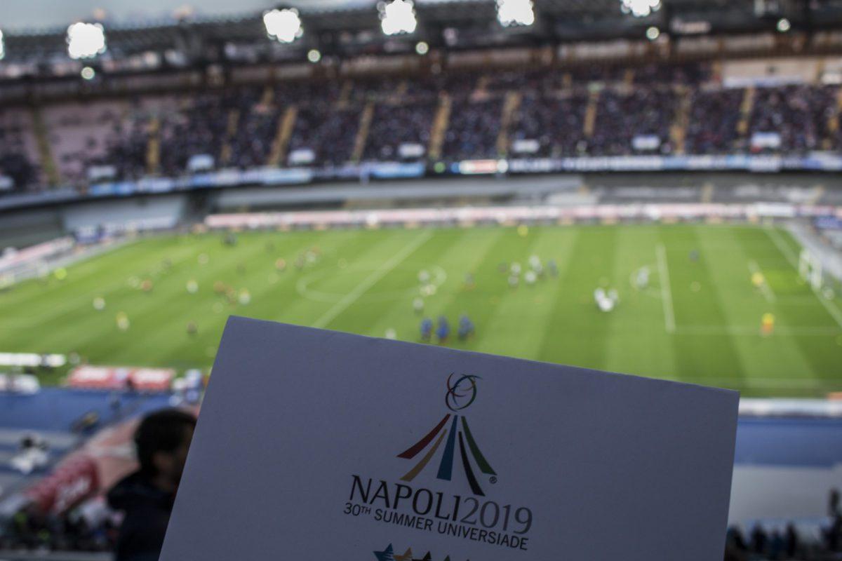 Appuntamento all'Universiade dallo Stadio San Paolo