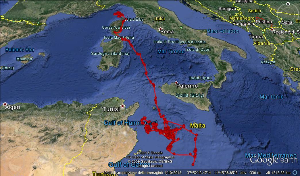 Area vulcanica sottomarina nel Canale di Sicilia: un nuovo studio INGV