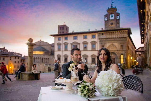 Arezzo capitale dei matrimoni