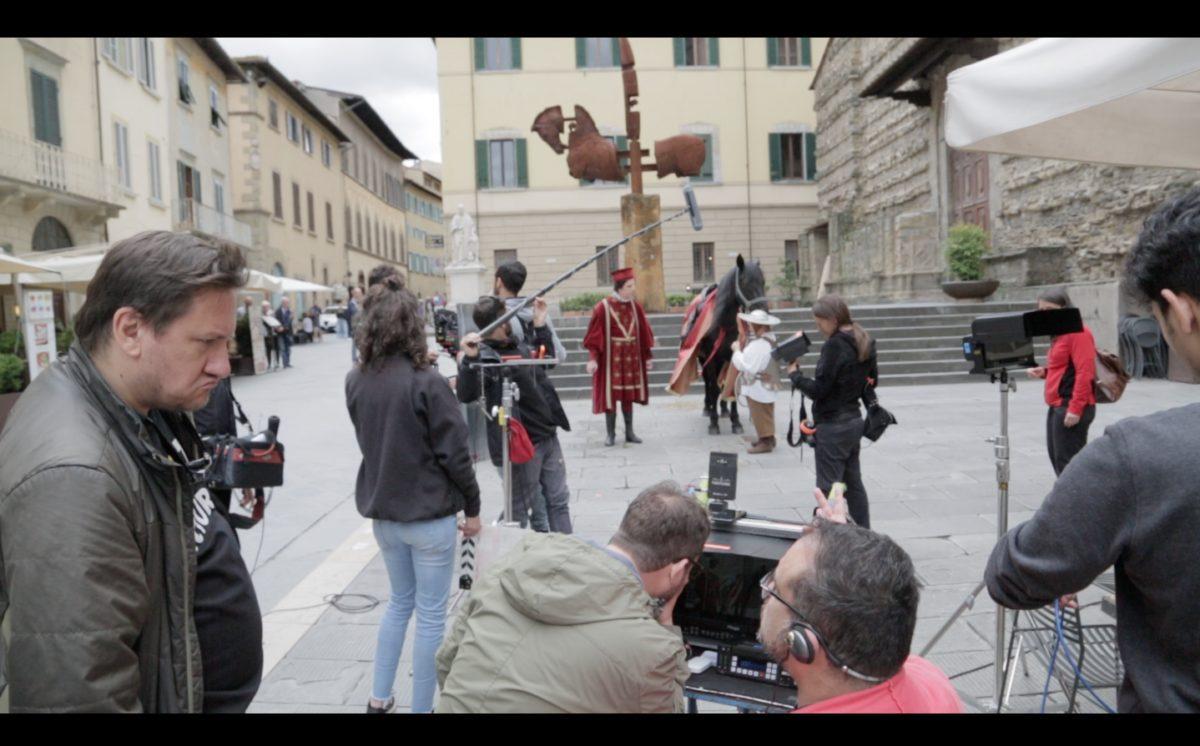Arezzo: Mimmo Paladino protagonista di un film con attori speciali