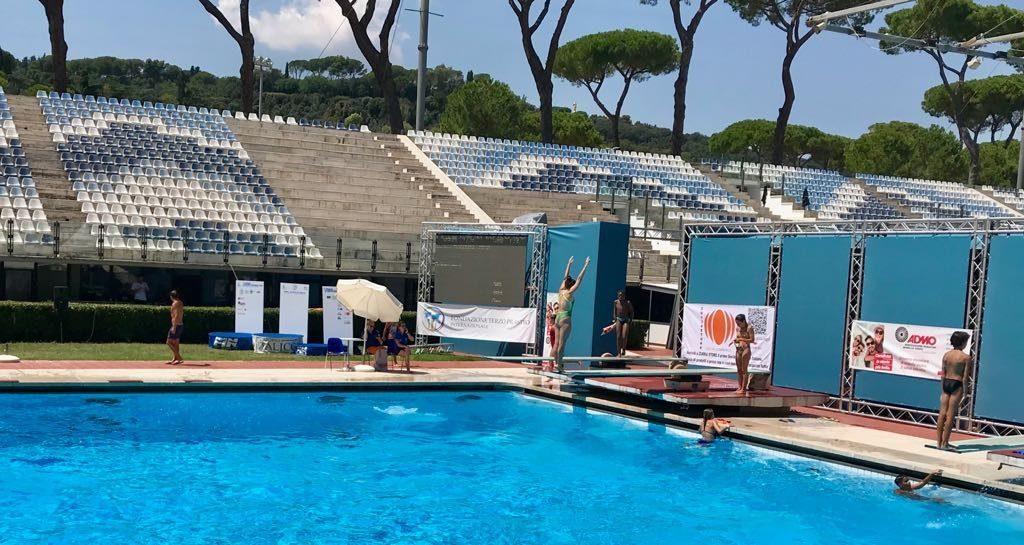 Arriva Roma Junior Diving Cup: spettacolo di tuffi e solidarietà al Foro Italico