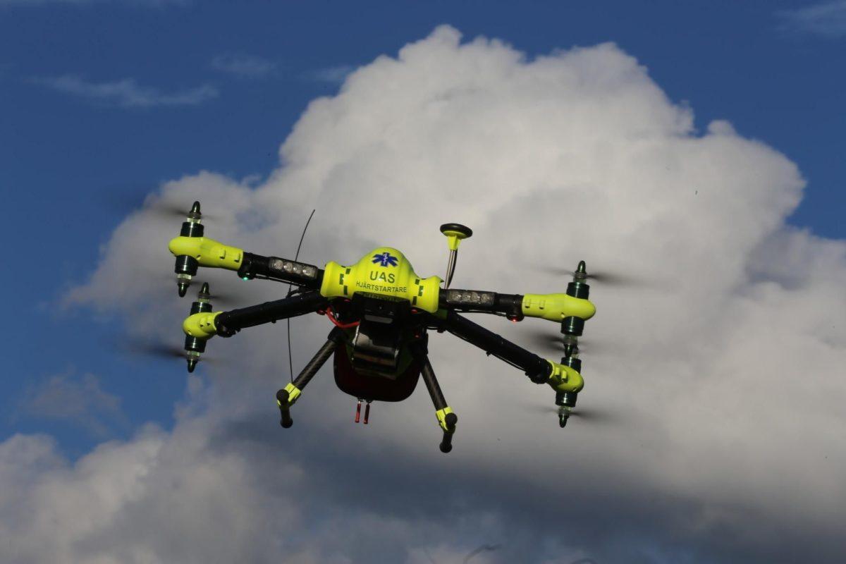 Arrivano i droni salvavita