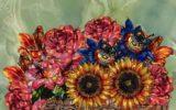 Arte: i fiori creato dall'Intelligenza Artificiale esposti a Mantova