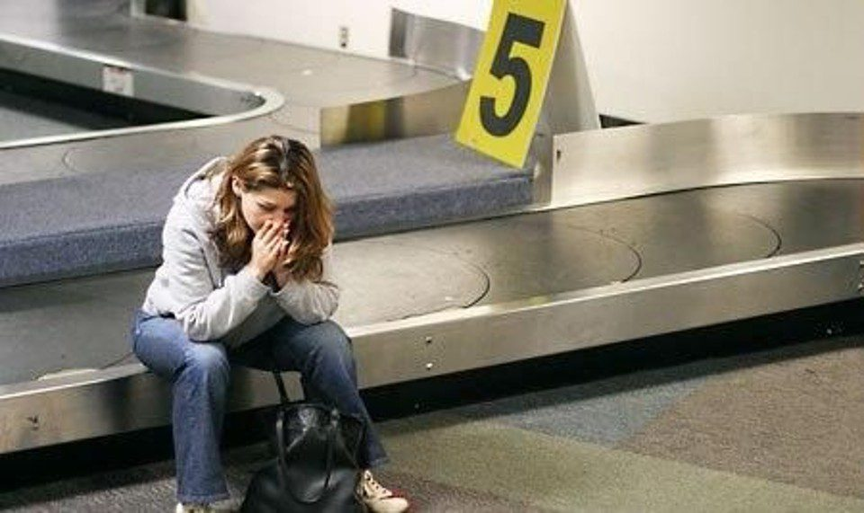 Aumento dei bagagli smarriti o rubati