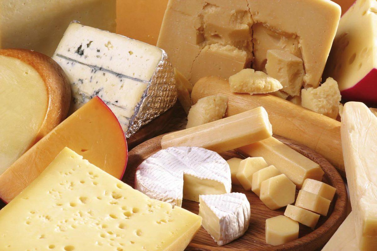 Aumento record export formaggi +8%