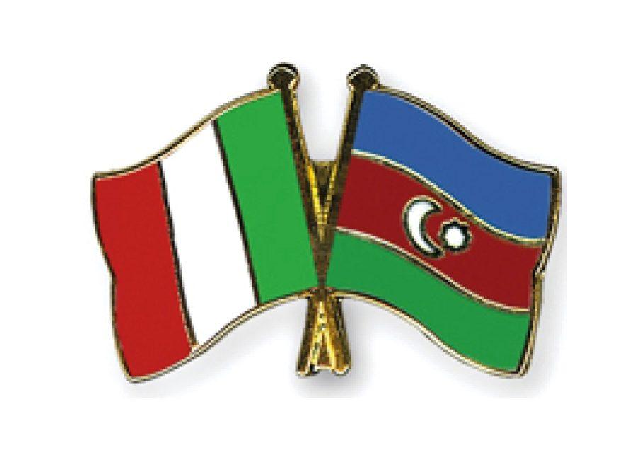 Azerbaigian in visita in Italia