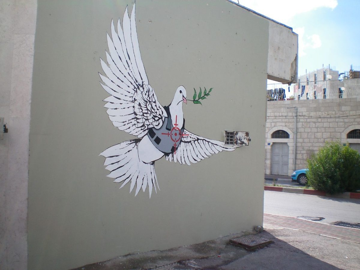 Banksy ed il suo bagno