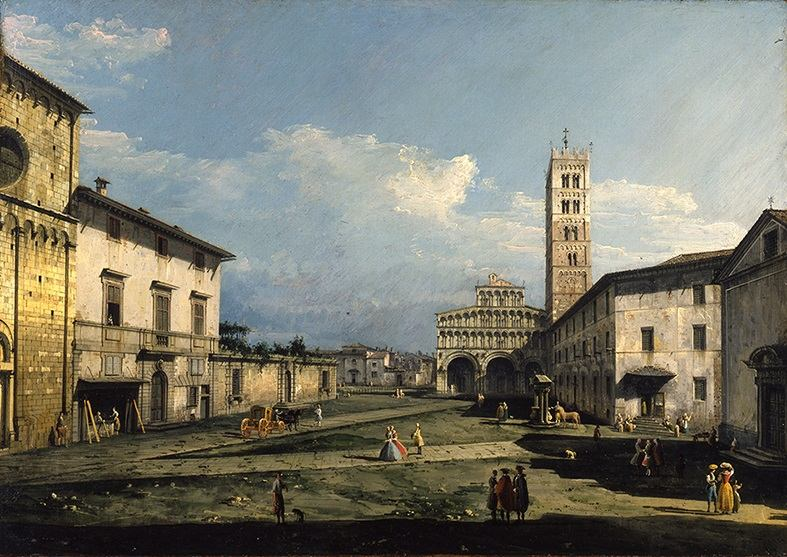 Bernardo Bellotto 1740 Viaggio in Toscana