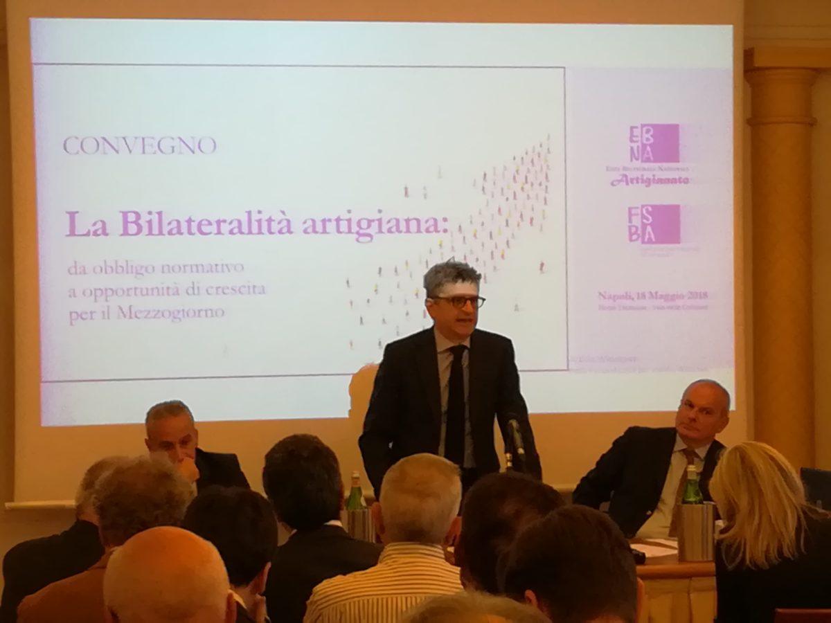 Bilateralità artigiana e crescita per il Mezzogiorno