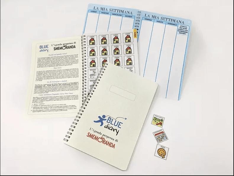 Blue Diary: l'agenda per le persone con sindrome dello spettro autistico
