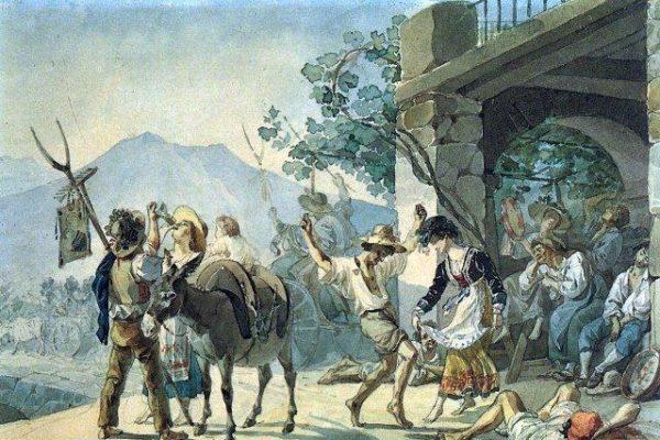 """Brjullov alla conquista dell'Europa: il """"genere italiano"""""""