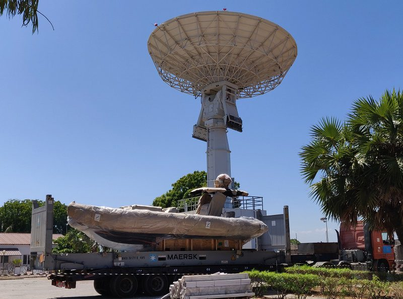 Broglio Space Center: nuovo upgrade