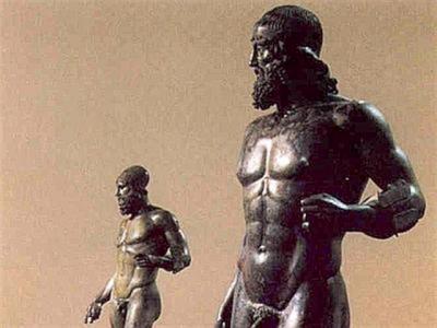 BRONZI RIACE TORNANO A MUSEO ARCHEOLOGICO REGGIO CALABRIA