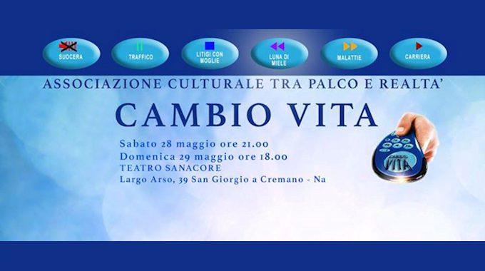 """""""Cambio vita"""" al Teatro Sanacore"""