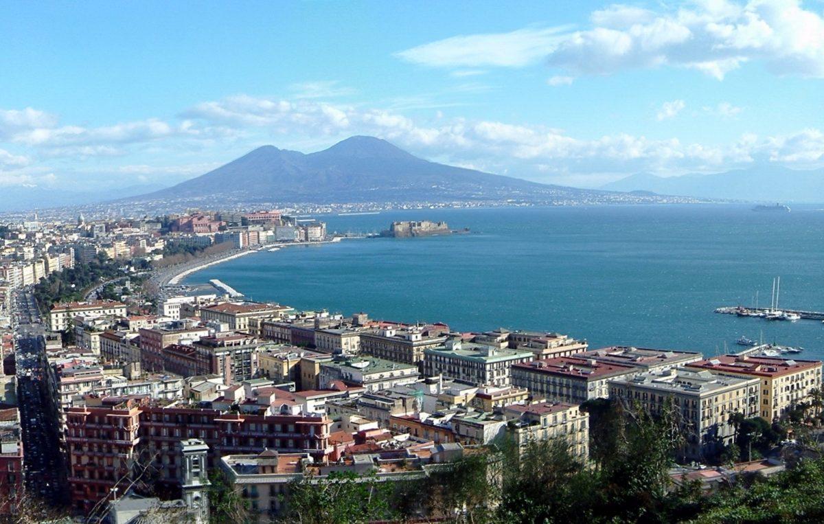 Cantando la dolce Napoli