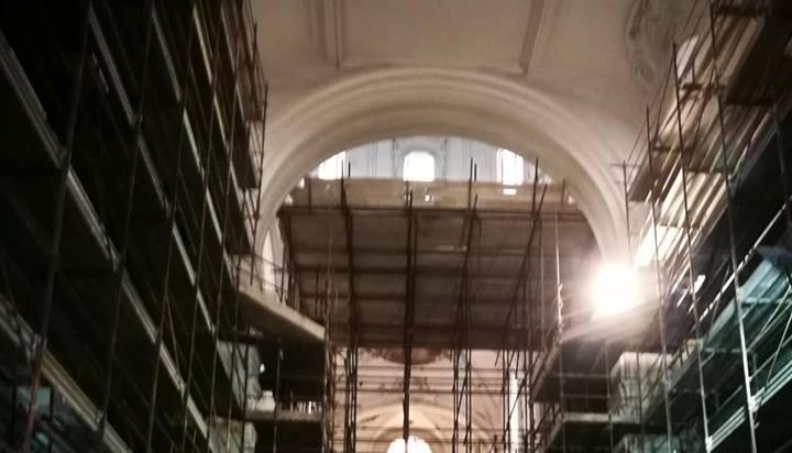 Cantiere aperto a San Pietro Martire