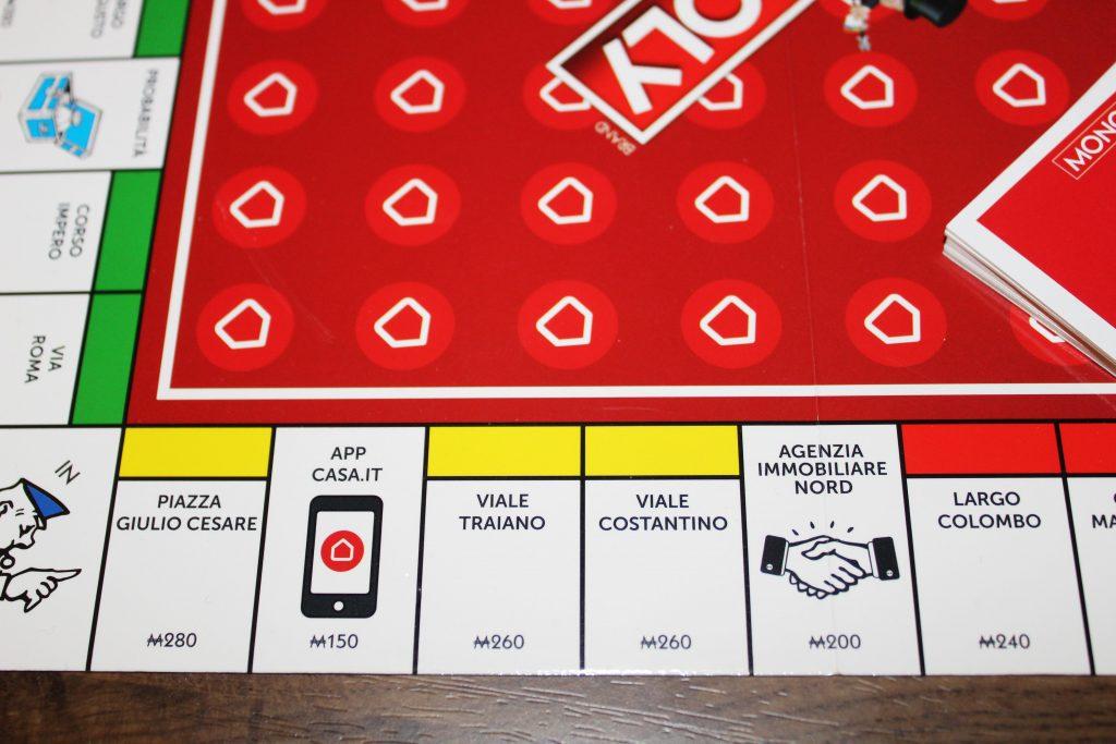 Casa.it entra nella storia di Monopoly
