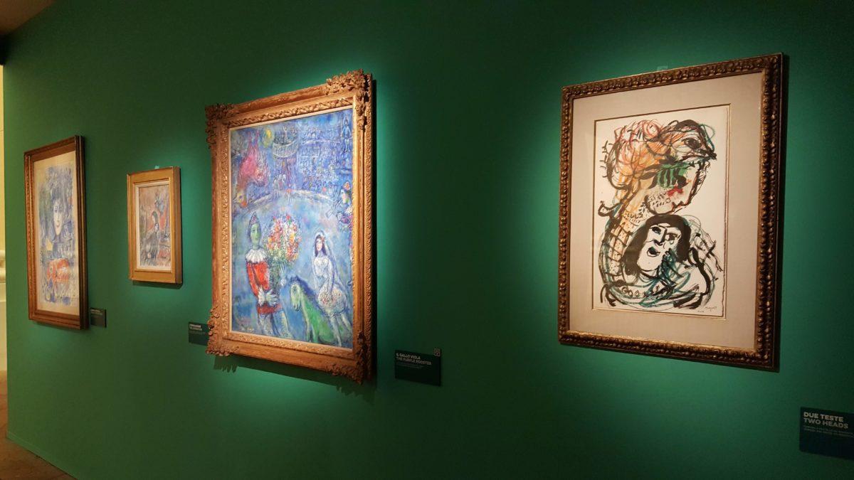 Chagall incontra Napoli: confine tra realtà e sogno
