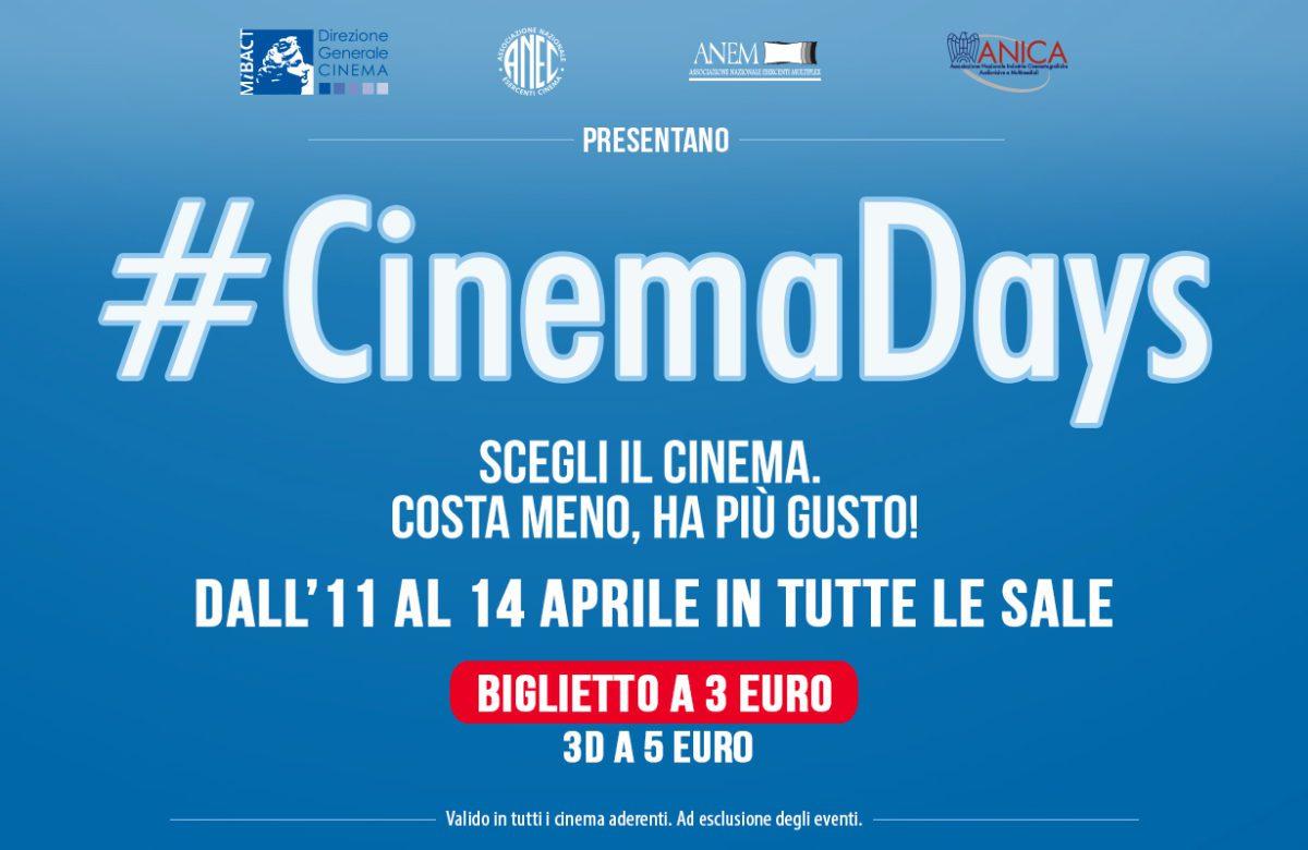 #CinemaDays: casting su instagram