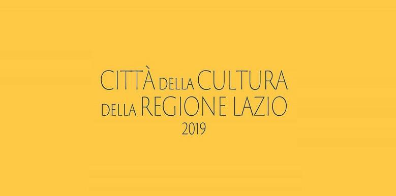 Città della Cultura del Lazio 2019