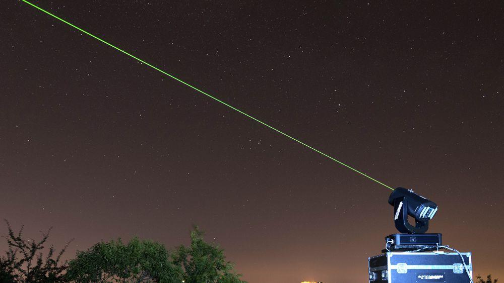 Con il laser fra le stelle
