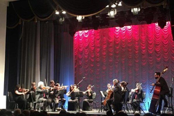 Concerto dell'ensemble del Conservatorio San Pietro a Majella a Velikij Novgorod