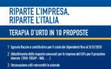 Confartigianato Salerno:manifesto vs Covid1