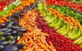 Consumi: mai tanta frutta e verdura a tavola