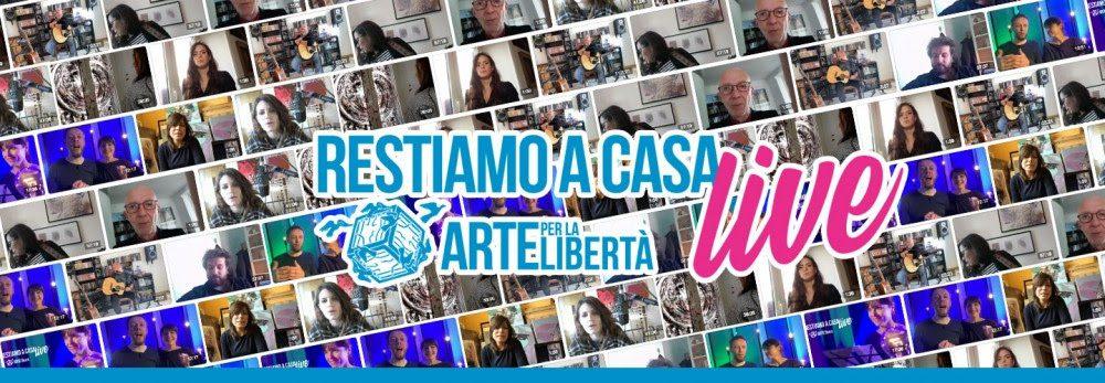 """Continuano le proposte artistiche in streaming di """"Arte per la libertà"""""""