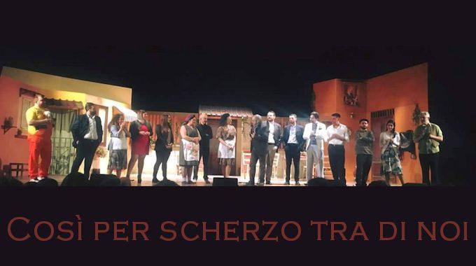 """""""Così per scherzo tra di noi"""": teatro e passione"""