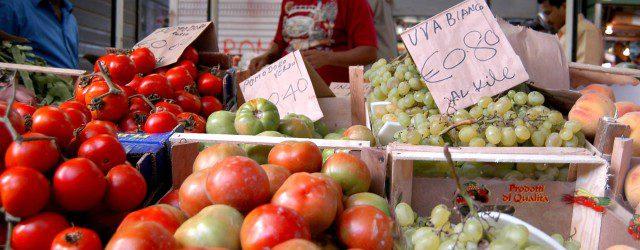 Cresce l'inflazione sugli alimenti