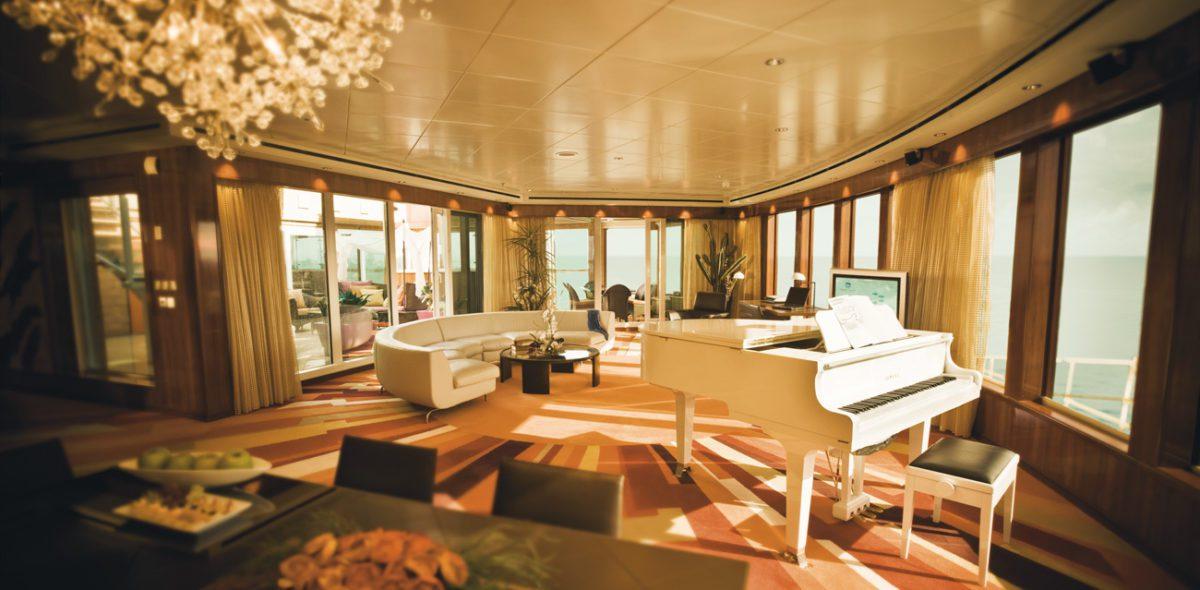 Crociere di lusso: le dieci suite più stravaganti