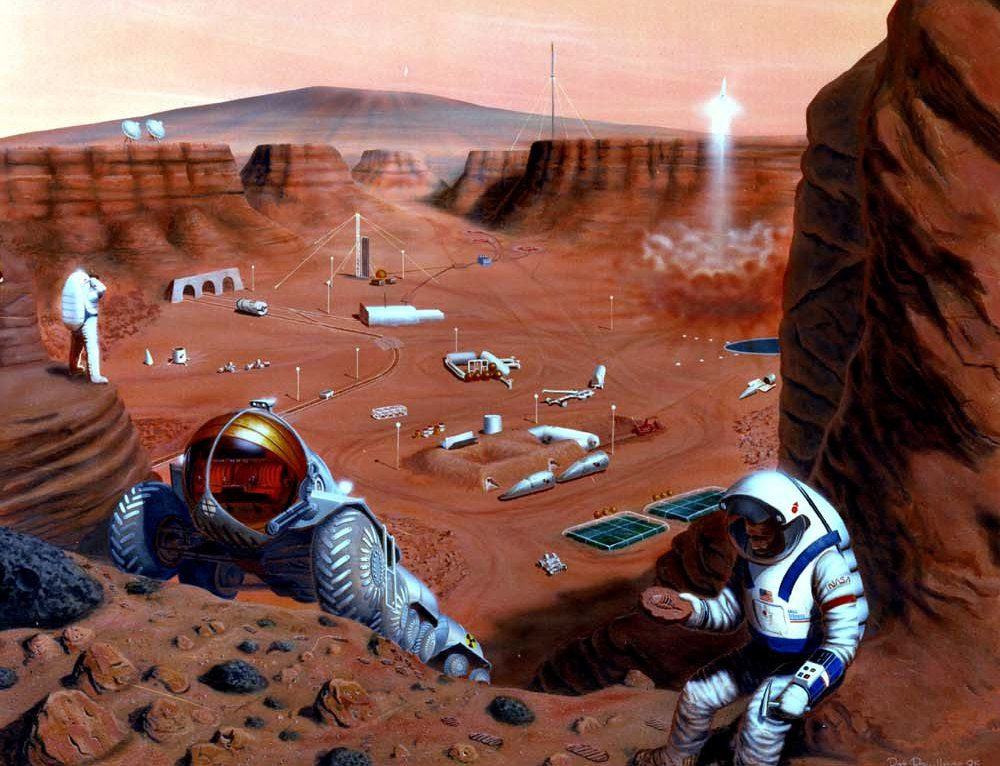 Da Marte all'edilizia