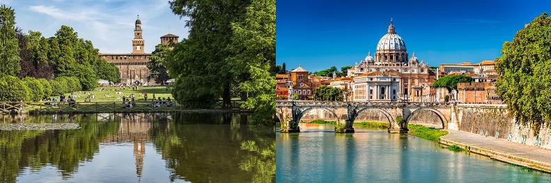 Dove scelgono la casa vacanza Milanesi e Romani?