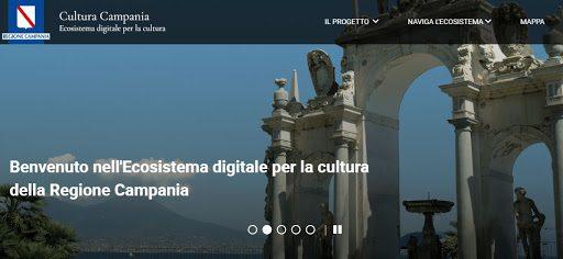 È online il portale dell'ecosistema per la cultura della Regione Campania