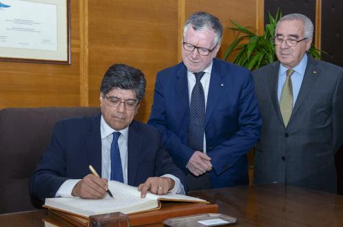 Ecuador e Italia stipulano un importante accordo di collaborazione scientifica