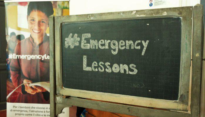#EmergencyLessons