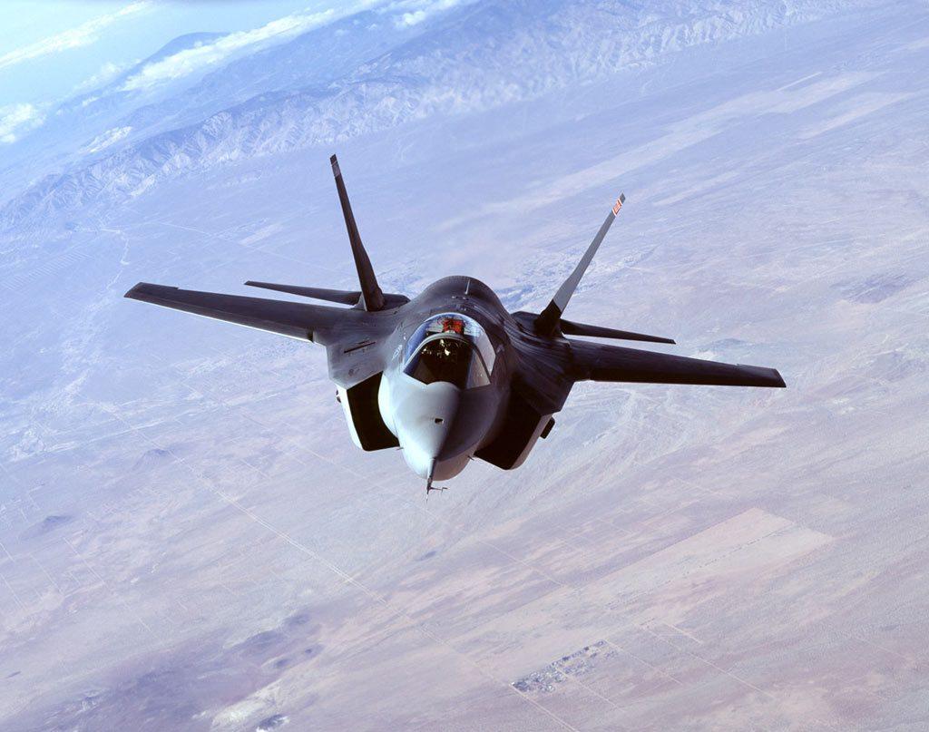 F-35 A TERRA