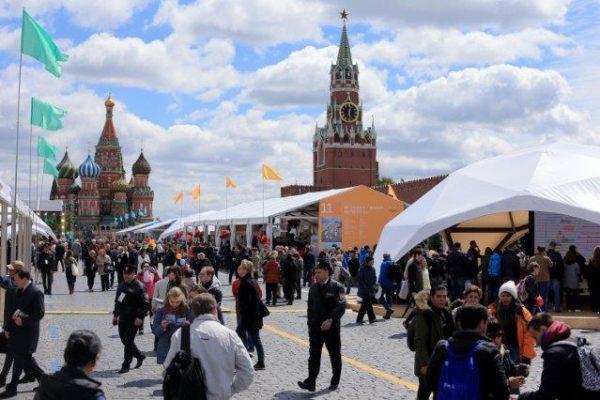 """Festival del libro """"Piazza Rossa"""" a Mosca"""