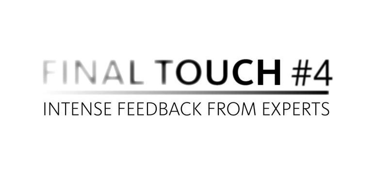 Final touch #4 per i giovani filmaker