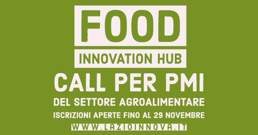 Food Innovation Hub: il progetto per le imprese agroalimentari del Lazio
